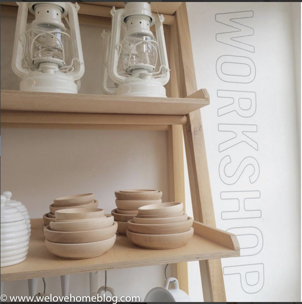 The homewares they source have a Scandi feel but they also have kitchen wares from Japan - like the wasbai bowl and table brushes. Everything just fits together. Siiigh! Even their shop logo is super stylishly cool. Shop in Brighton? LetInterior Stylist Maxine Brady from WeLoveHome show you her pick of the best stores in her home town. Starting with Workshop.