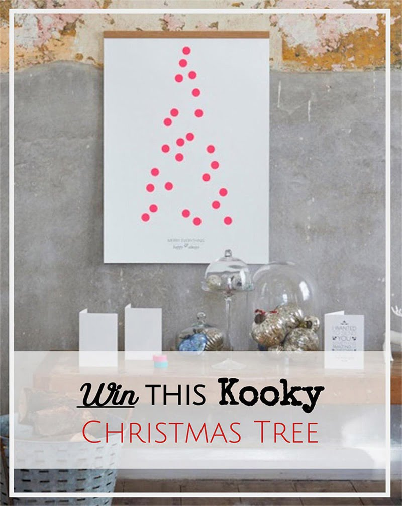 Win a One Two Tree Christmas print
