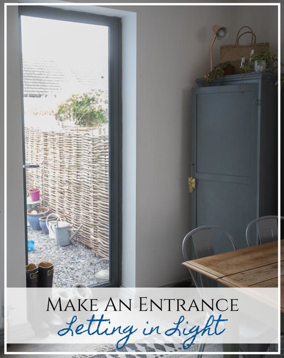 [DIY Makeover] From Window to Back Door