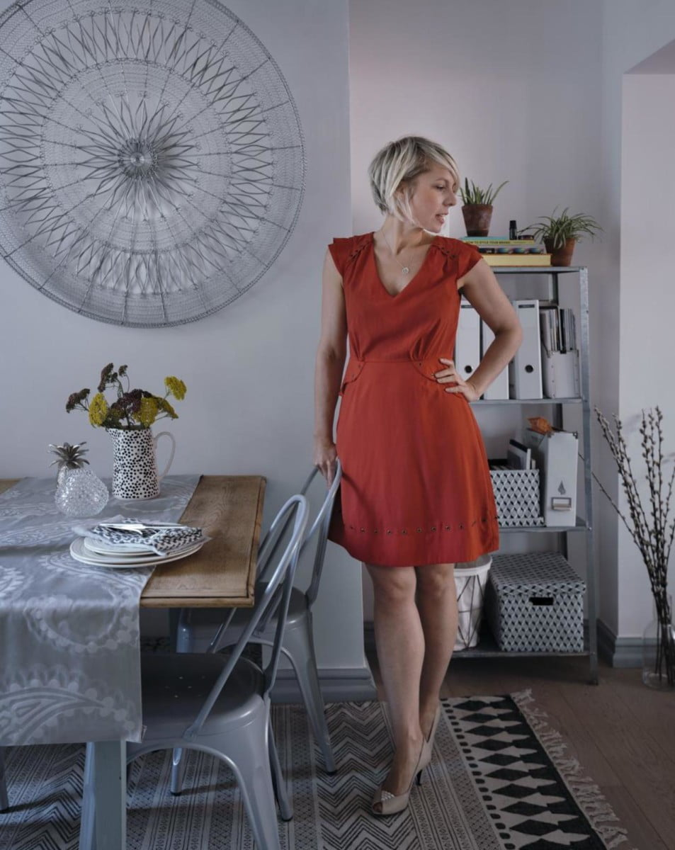 Adding Metallics to my Dining Room with interior Stylist Maxine Brady from WeLoveHomeBlog