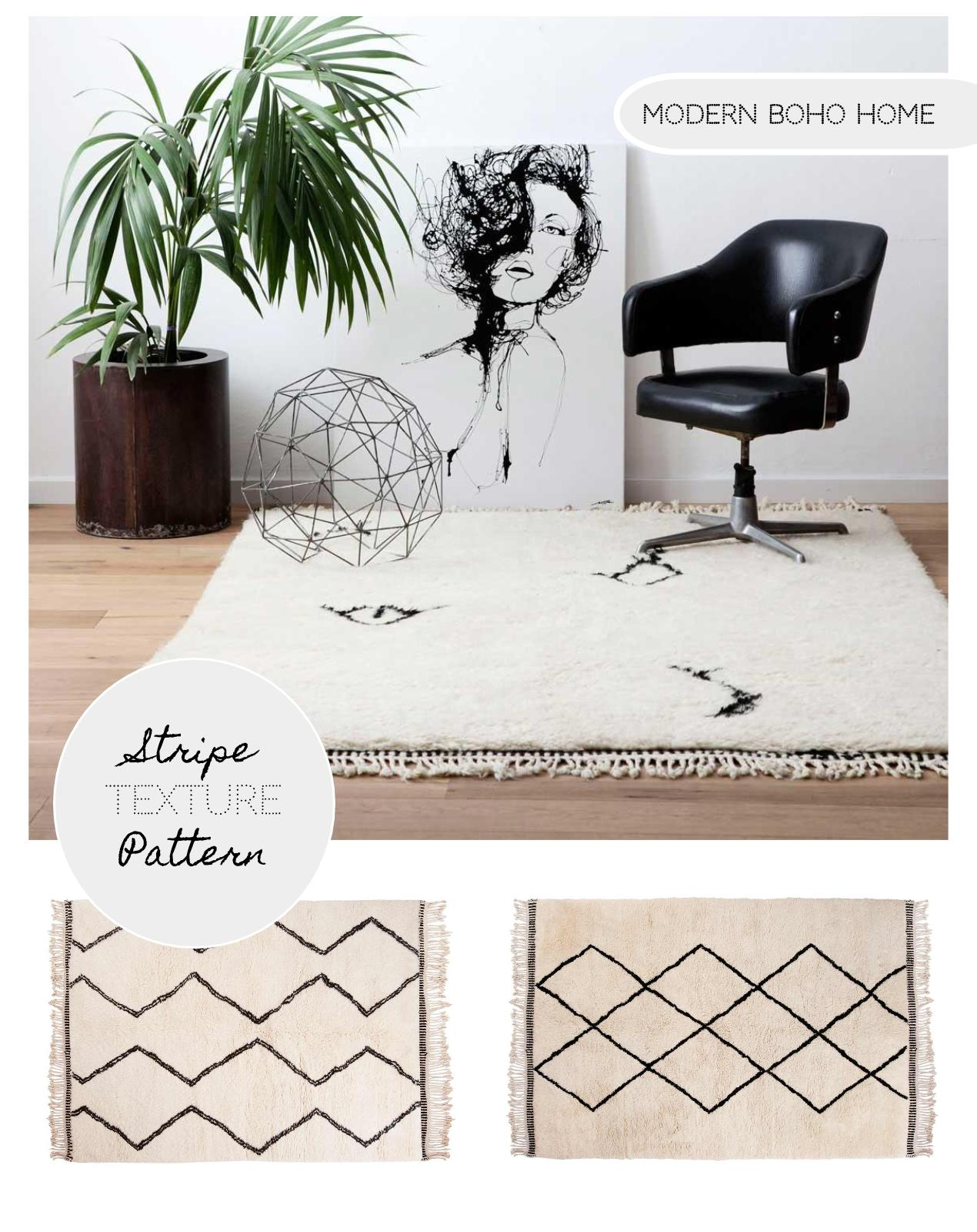 Why I love my Beni Ourain rug: Get that Boho Chic Look at Home