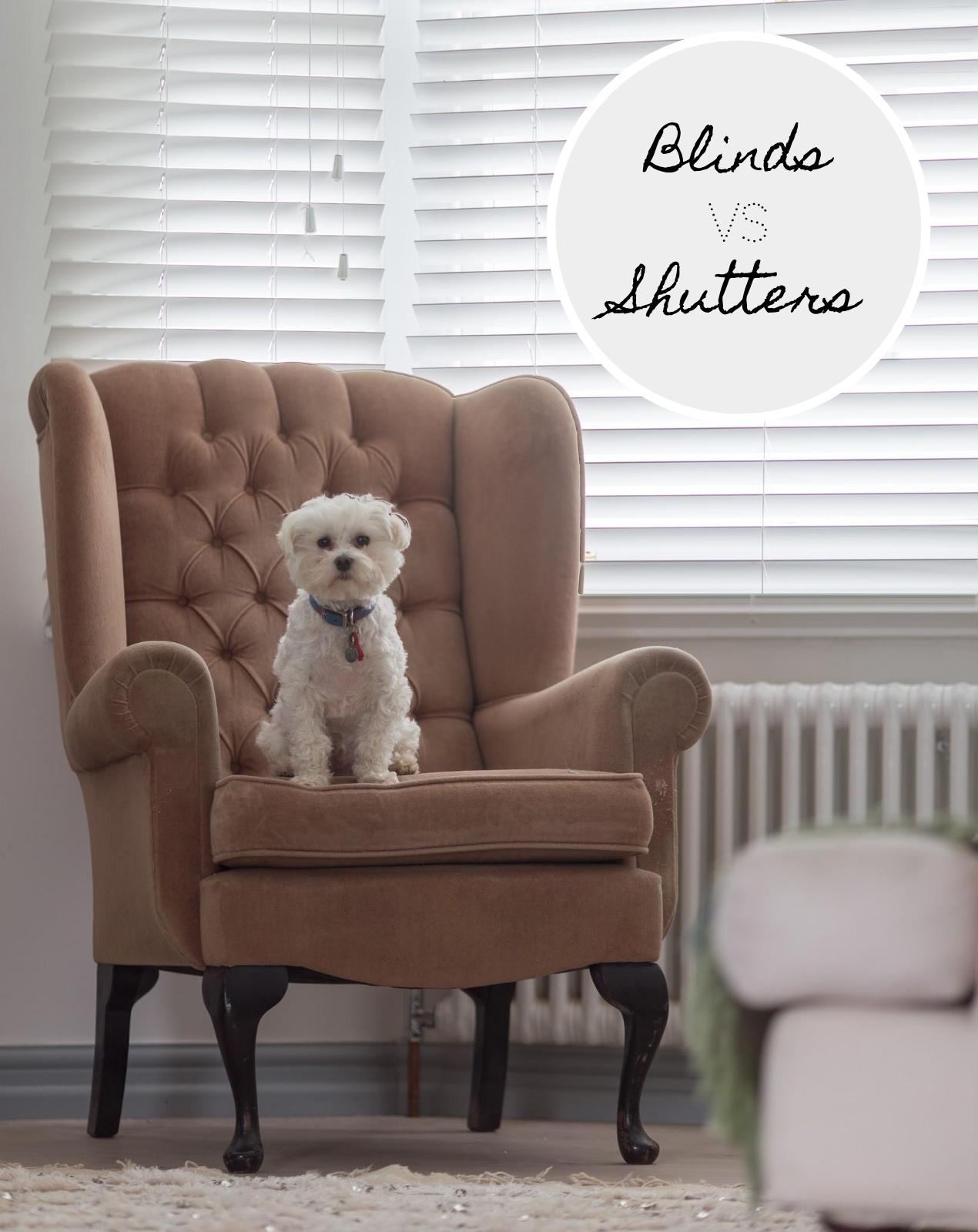 Blinds Vs Shutters. Why Blinds Are The New Shutters by WeLoveHomeBlog.
