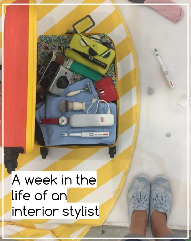 The week in the life of an interior stylist with Maxine Brady at www.WeLoveHomeBlog.com