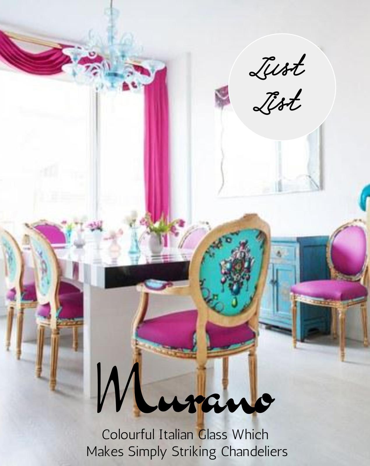 Murano glass is on the top of my Style Spurge wish list. www.welovehomeblog.com