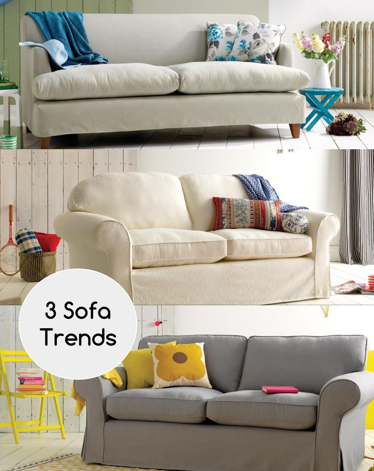 Need inspiration on how to simply style your sofa? Here's my three top colour trends for summer which I know you are just going to love. www.welovehomeblog.com