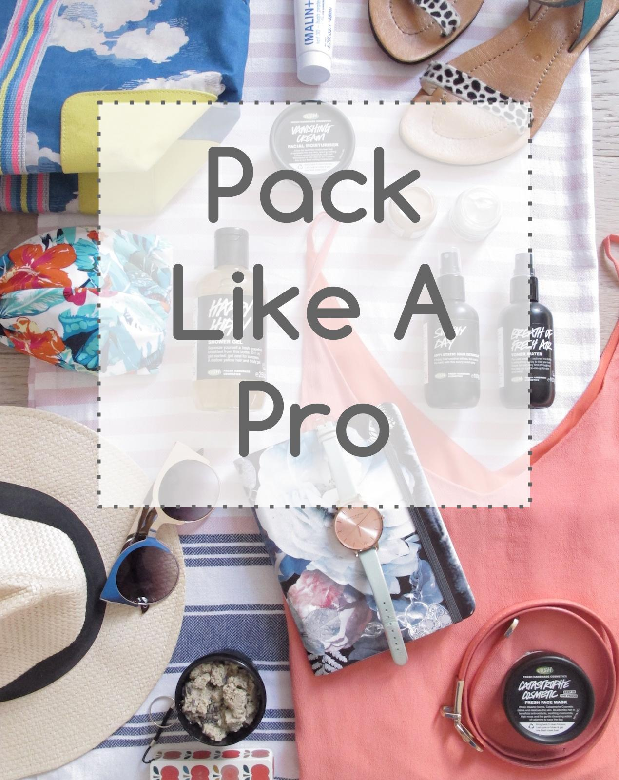 #lifegoals How to pack like a pro www.welovehomeblog.com