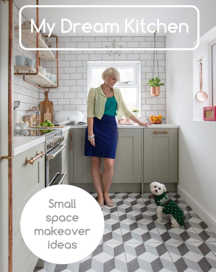 Small kitchen dream makeover with Maxine Brady