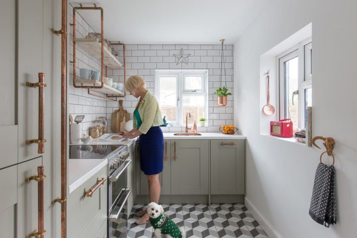 Shop my small kitchen makeover with Maxine Brady