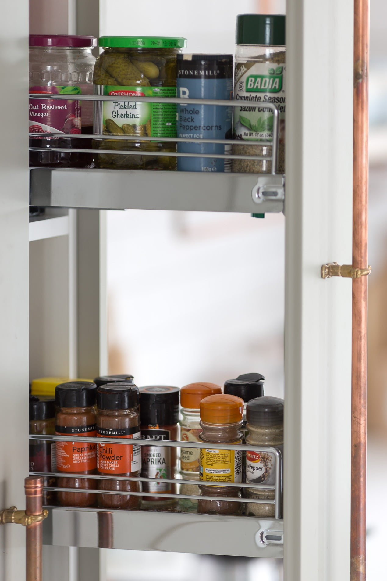 Streamline storage in a redesigned kitchen