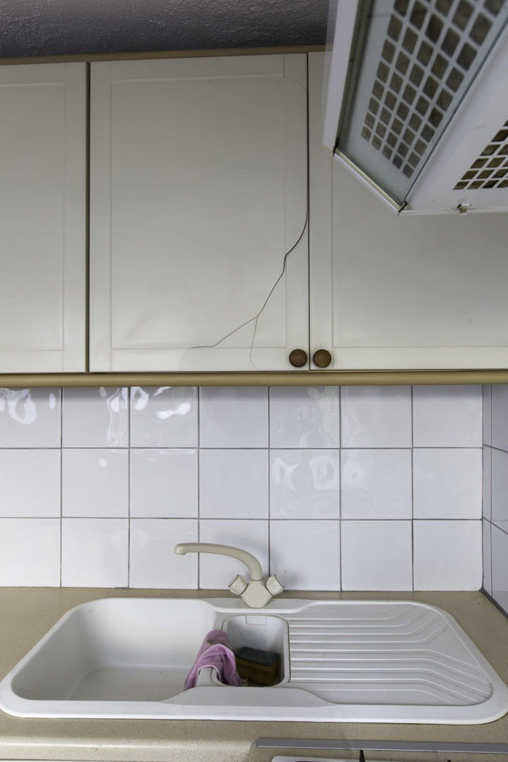 Cupboards that need renovating