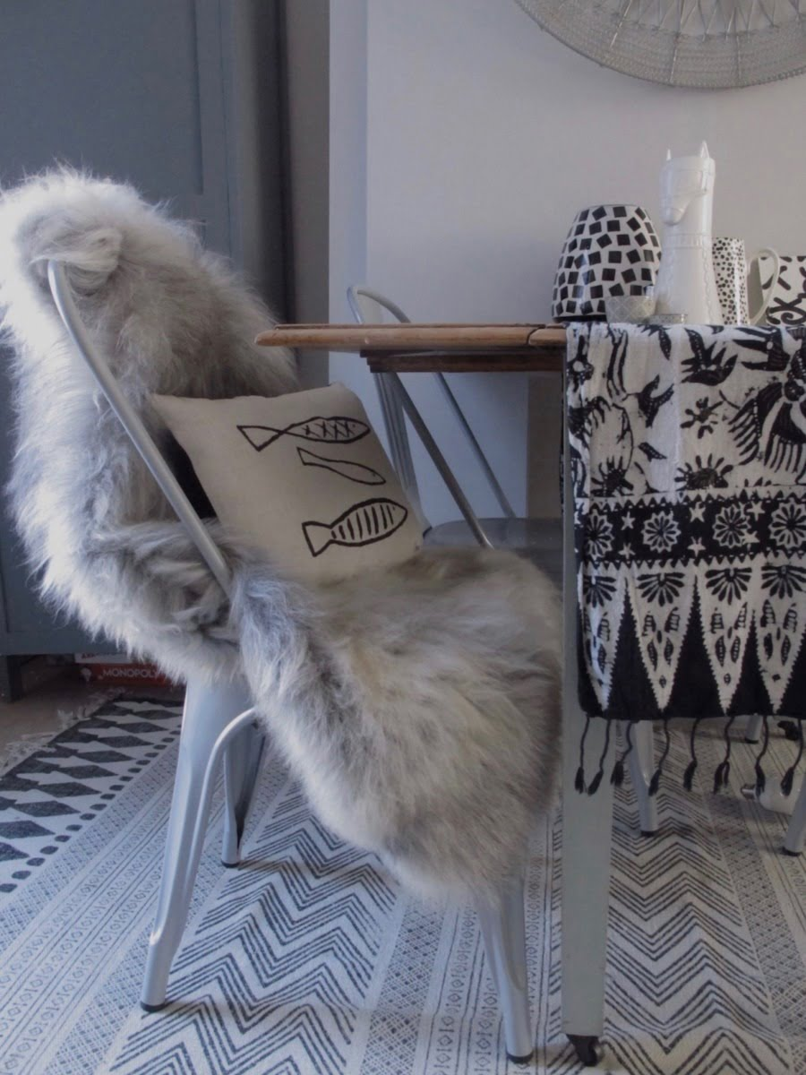 Discover how to style hide rugs in to your home with these easy ideas and tricks by interior stylist + blogger Maxine Brady