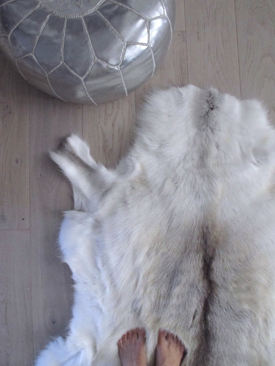 Discover how to style hide rugs in to your home with these easy ideas and tricks by interior stylist + blogger Maxine Brady .