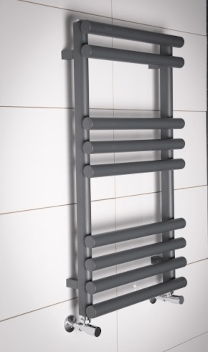An after shot of the towel rail