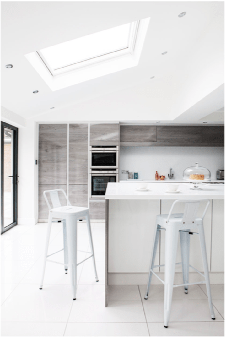Dream kitchen styled for a big TV advert
