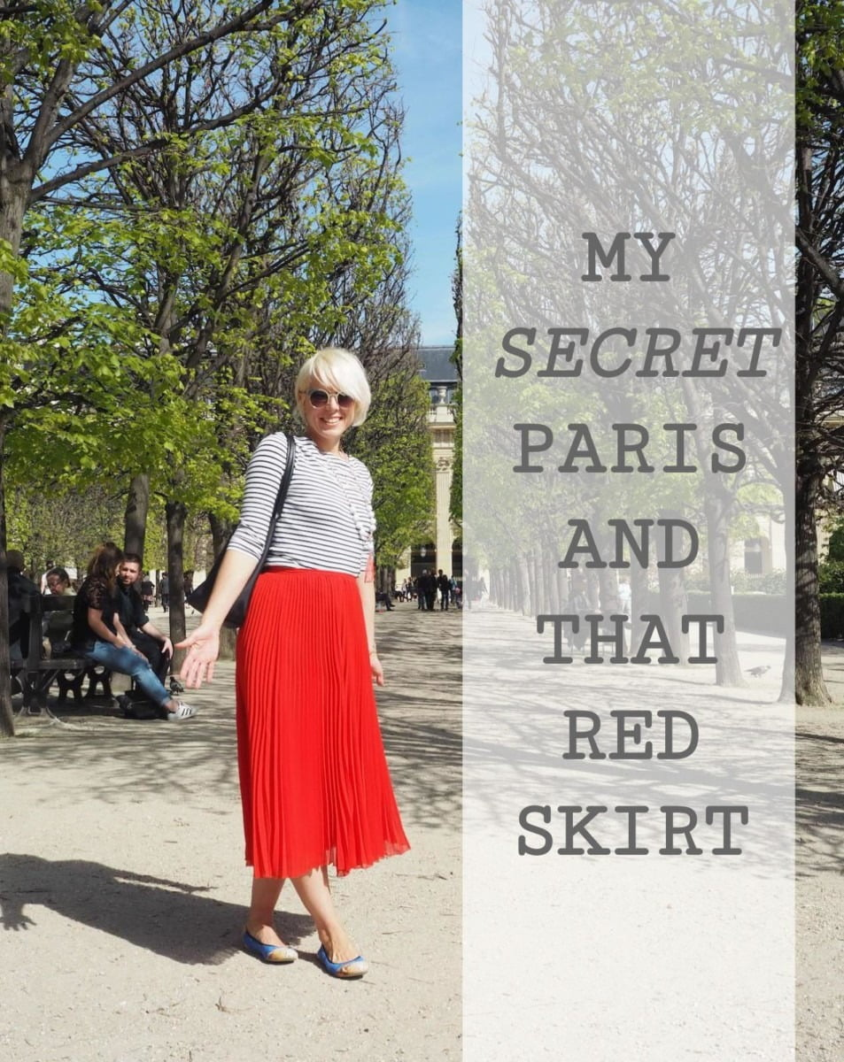 My Secret Paris and that red skirt