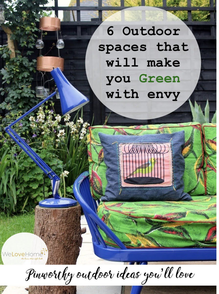 Steal 100s ideas from these 6 amazing garden design ideas to help transform your garden this summer by Interior Stylist and WeLoveHome blogger Maxine Brady image by Lazy Daisy Jane