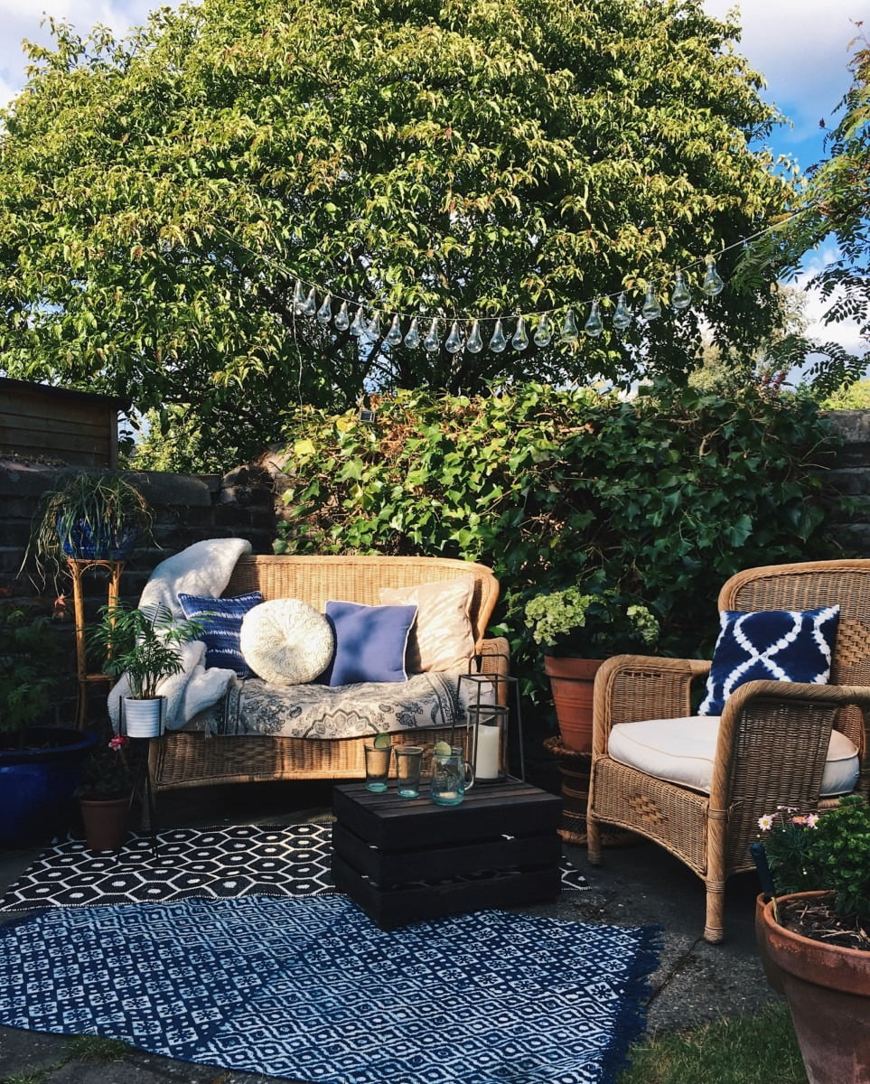 Steal 100s ideas from these 6 amazing garden design ideas to help transform your garden this summer by Interior Stylist and WeLoveHome blogger Maxine Brady Image by Around The Houses