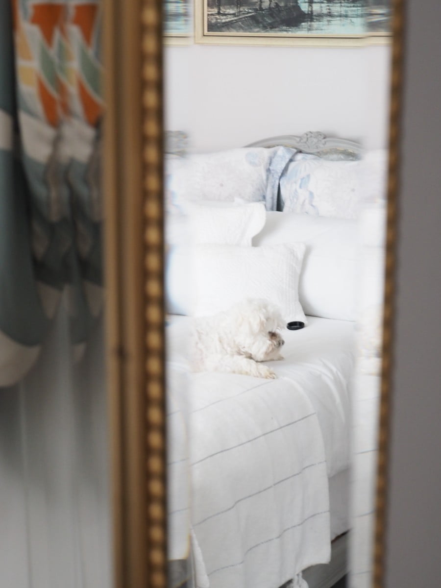 How a selfie addict found the perfect mirror for her bedroom by Interior Stylist and Design Blogger Maxine Brady from WeLoveHomeBlog