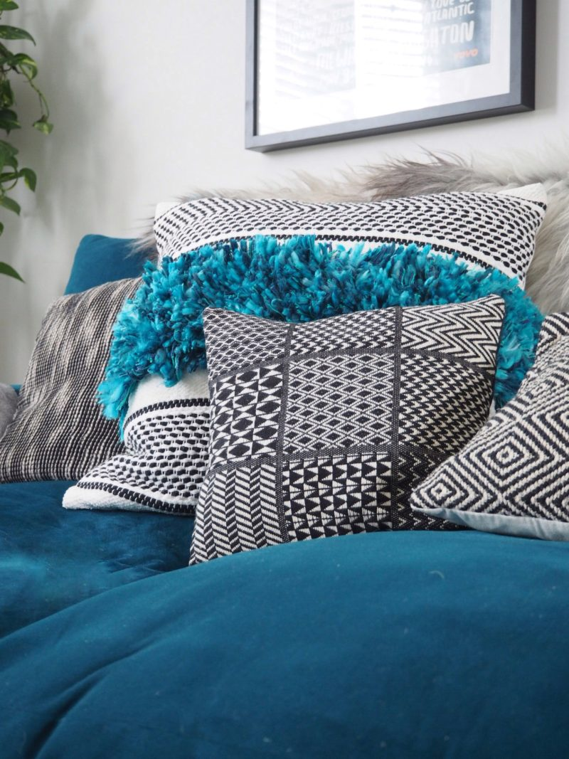 Colourful cushions for a living room makeover