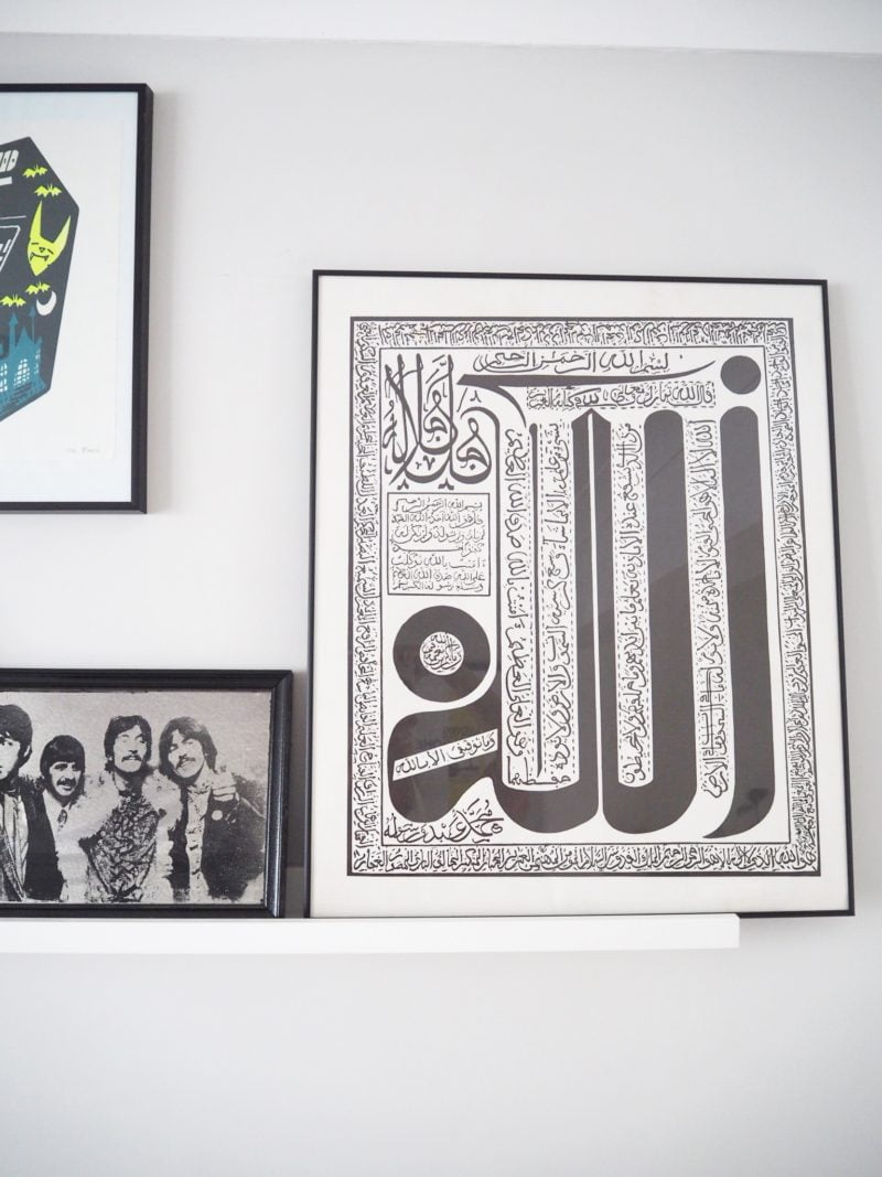 Pictures on walls for a living room makeover