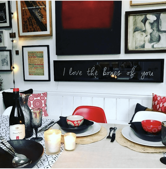 win a LED neon sign designed bespoke by me and made by the ever-so-fabulous Light up North. If you can't wait to win, I also have a special 10% off discount code so you can make your own sign by Interior Stylist and Blogger Maxine Brady www.maxinebrady.com.