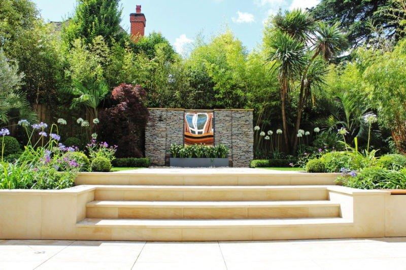 Kate Gould garden paving design