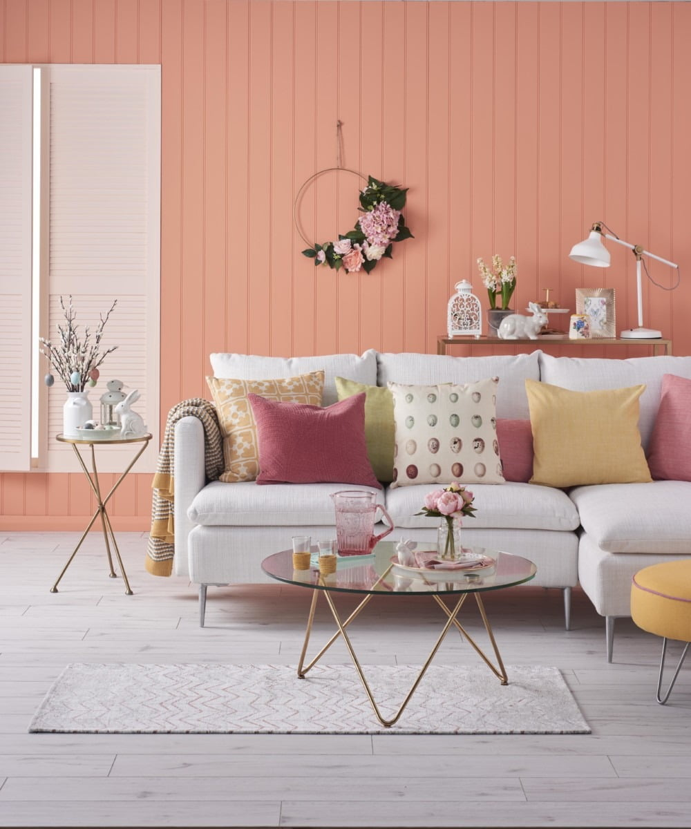 Discover how to add the blush trend to your home with these expert tips from Interior Stylist Maxine Brady as she showcases her styling work with Good Homes magazine.