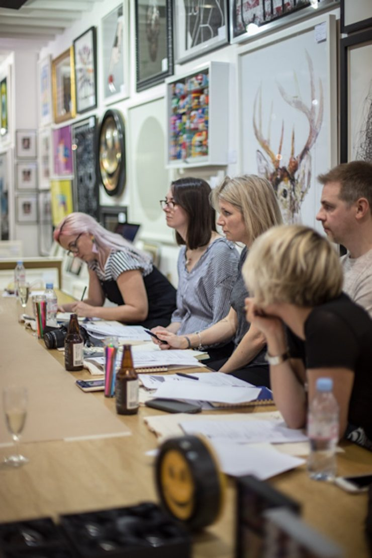 Maxine from We Love Home Joins Expert Blogging Panel at Brighton's Art Republic with Blog Authentic - influencer marketing agency www.maxinebrady.com