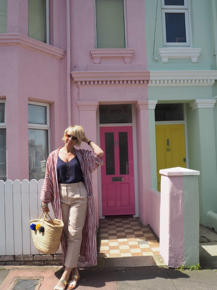 Interior Stylist Maxine Brady - helps your find out if your front door colour is perceived as intelligent, friendly, fun or mysterious.