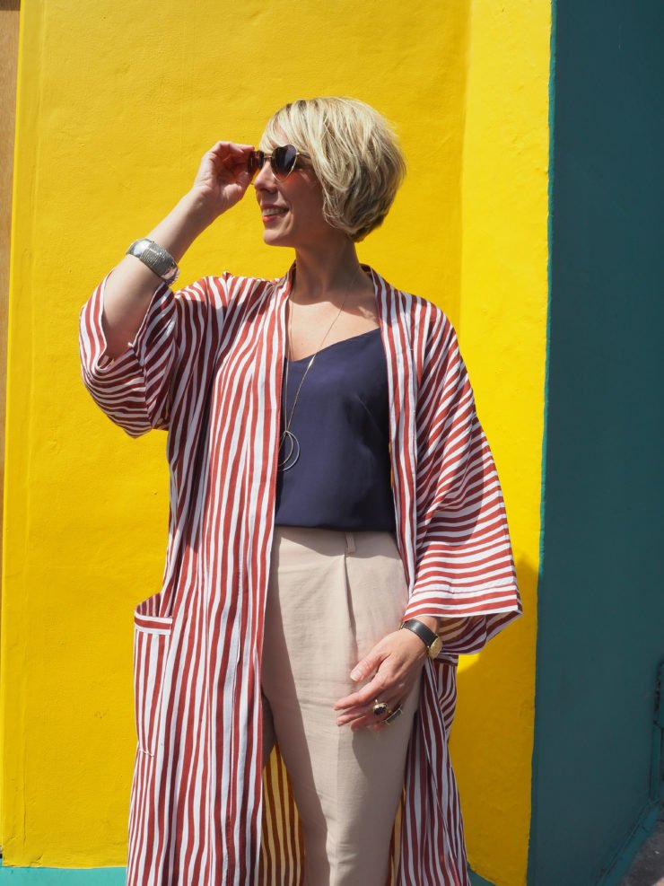 Lifestyle Blogger Maxine Brady shows you how to team Summer stripes with simple tailoring for a look that will look effortless and sharp.