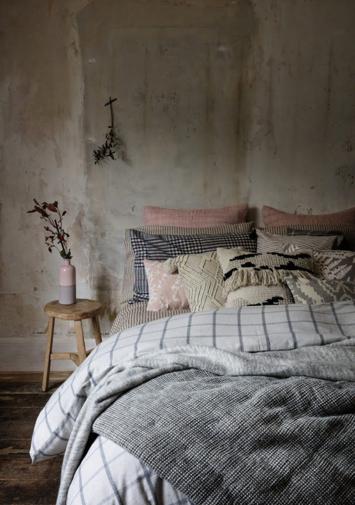 Interior Stylist Maxine Brady showcases the latest trend for interiors - distressed walls. Be inspired by the authentic patina found in plasterwork at home.