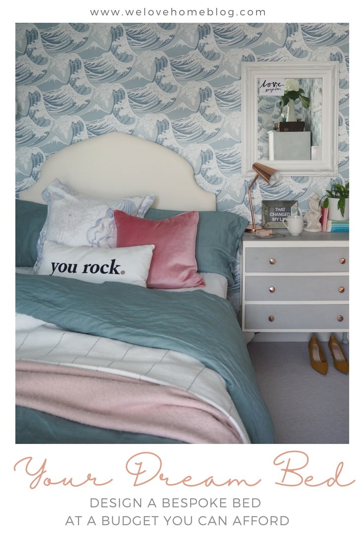 Imagine designing your own bed at a budget you can afford. Interior Stylist Maxine Brady tires out Happy Beds's on-line tool to build her dream bed.