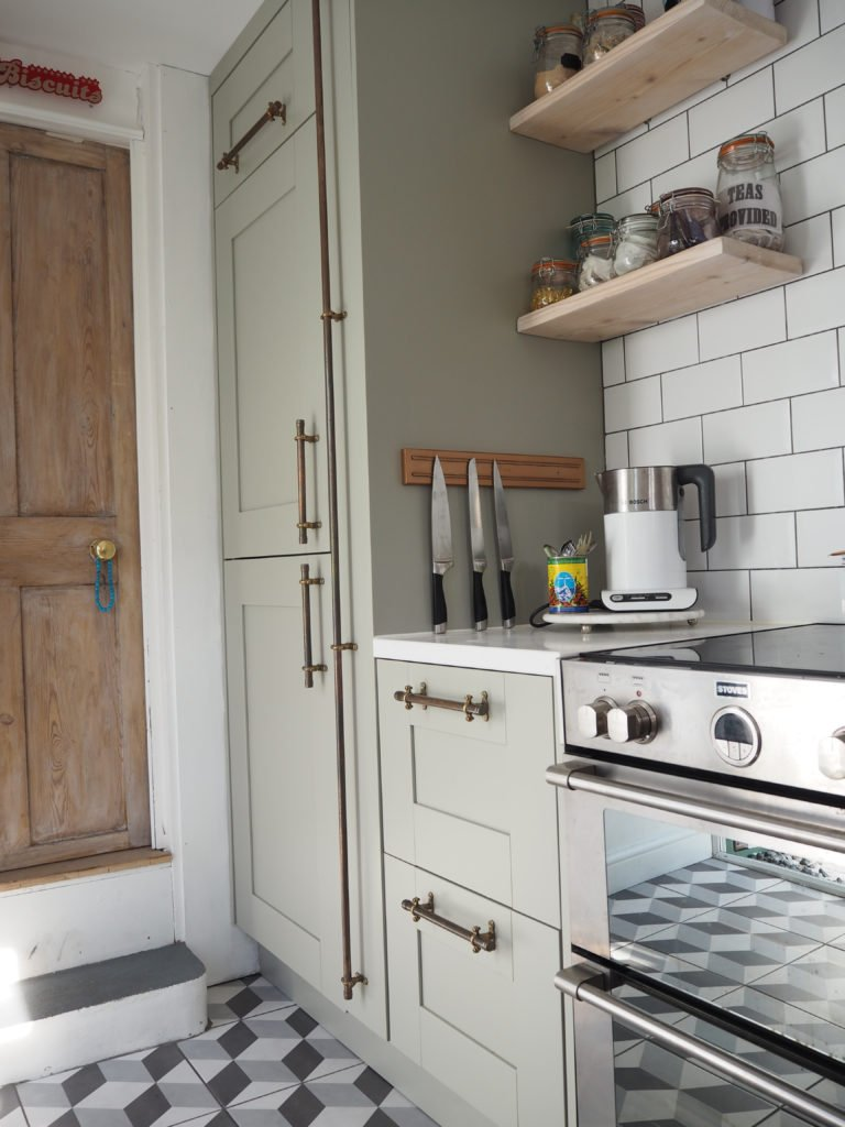 How to make copper handles with this simple step-by-step guide by interior stylist & blogger Maxine Brady from We Love Home Blog