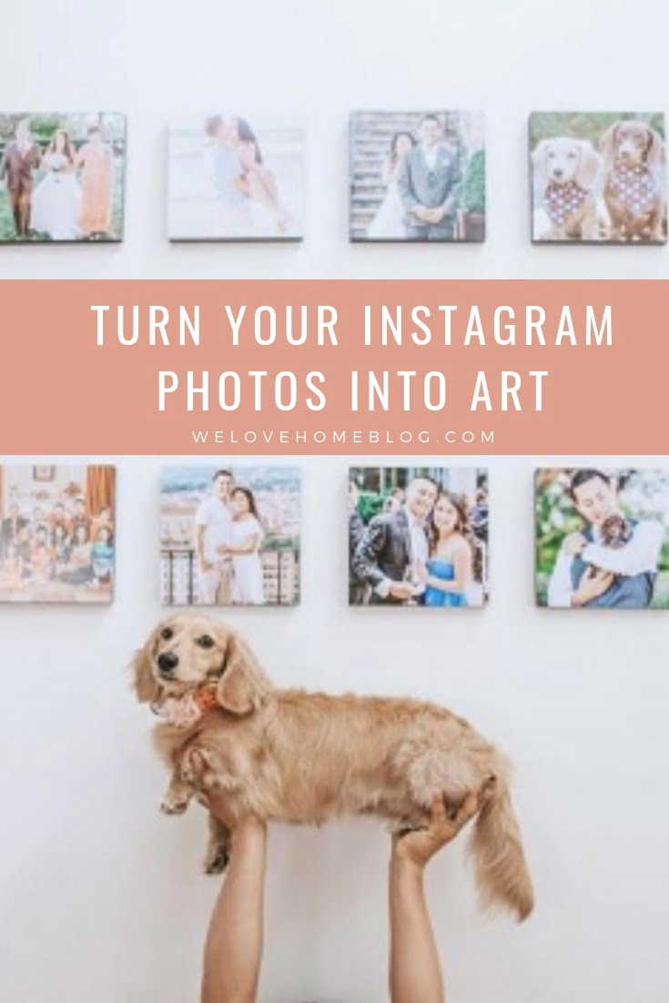 Today, with the help of photo art experts Wallpics, I'm going to show you how you can make bespoke wall art on a budget by Interior Stylist Maxine Brady
