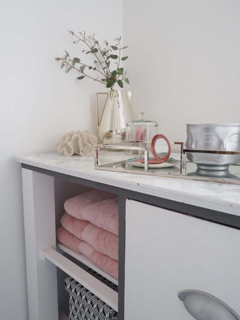 Top tips on how to kick start your day with a brilliant morning bathroom routine by interior stylist Maxine Brady from We Love Home blog.
