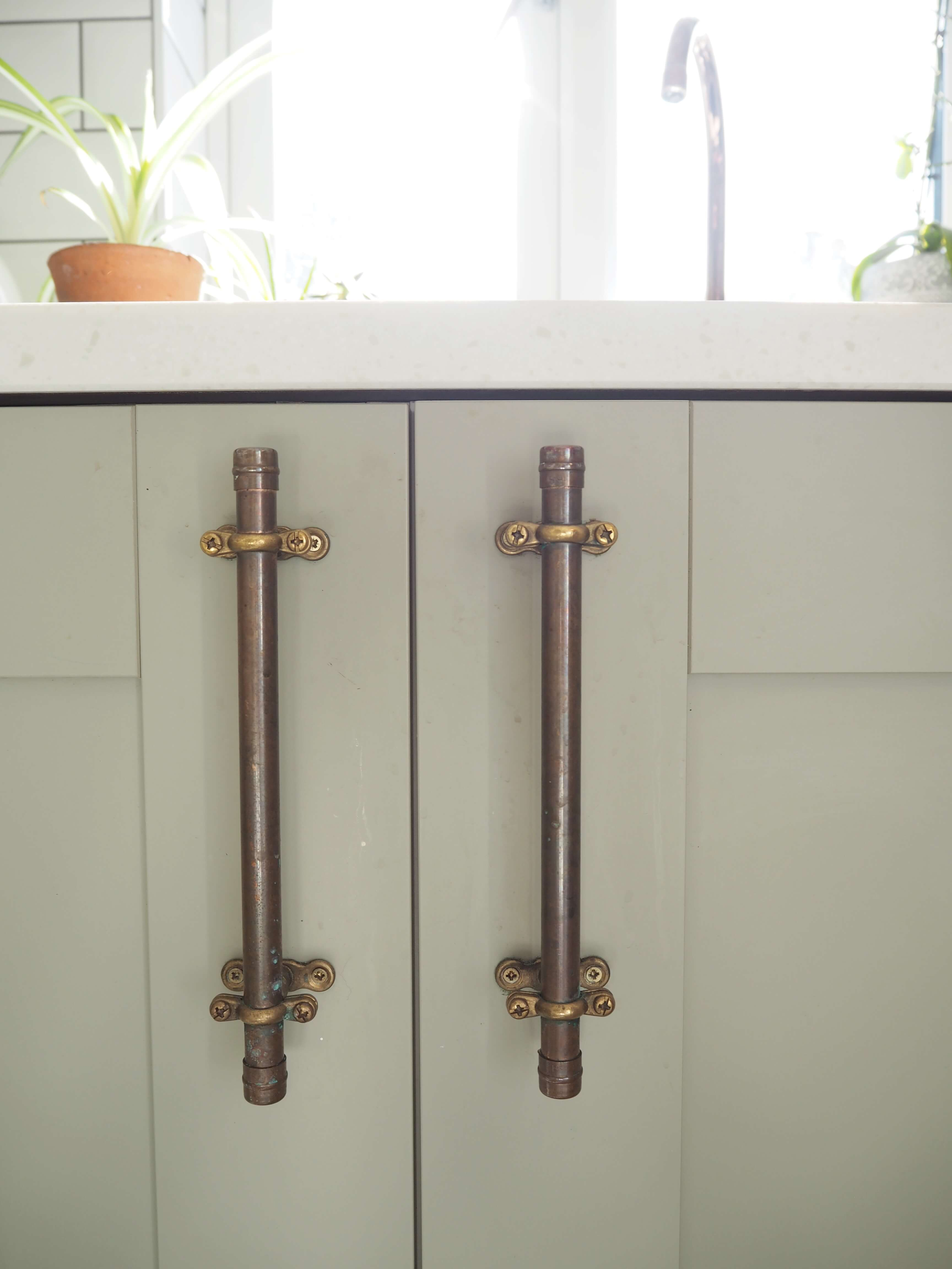 Diy Copper Pipe Drawer Pulls Welovehome Home