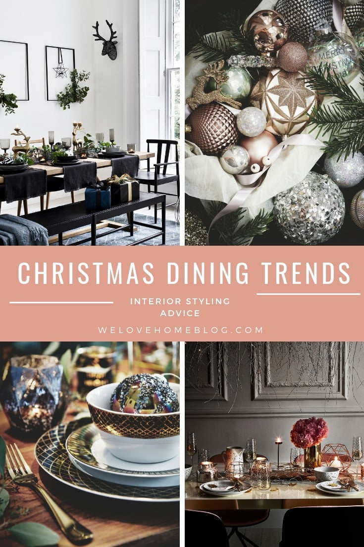 Interior Stylist & Lifestyle Blogger Maxine Brady walks you through three Christmas dining trends with styling tips to get a Pinterest-perfect dining table.