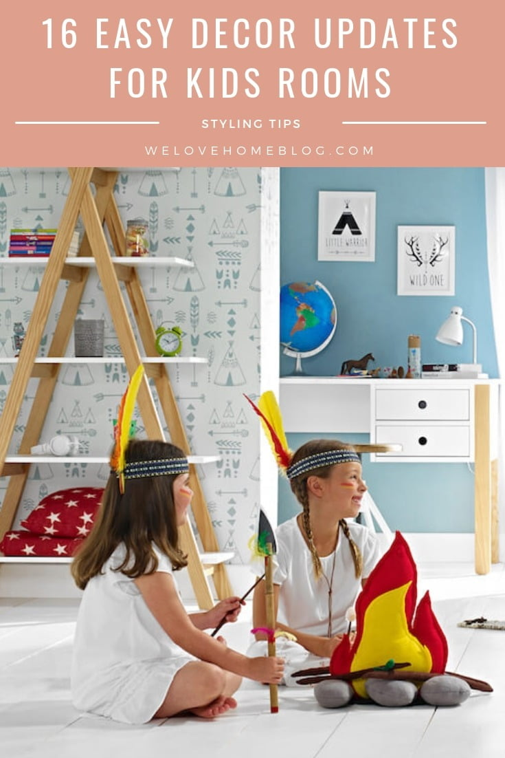 Here's my 16 decor update ideas to transform kids' room with the help of online store Room-To-Grow.