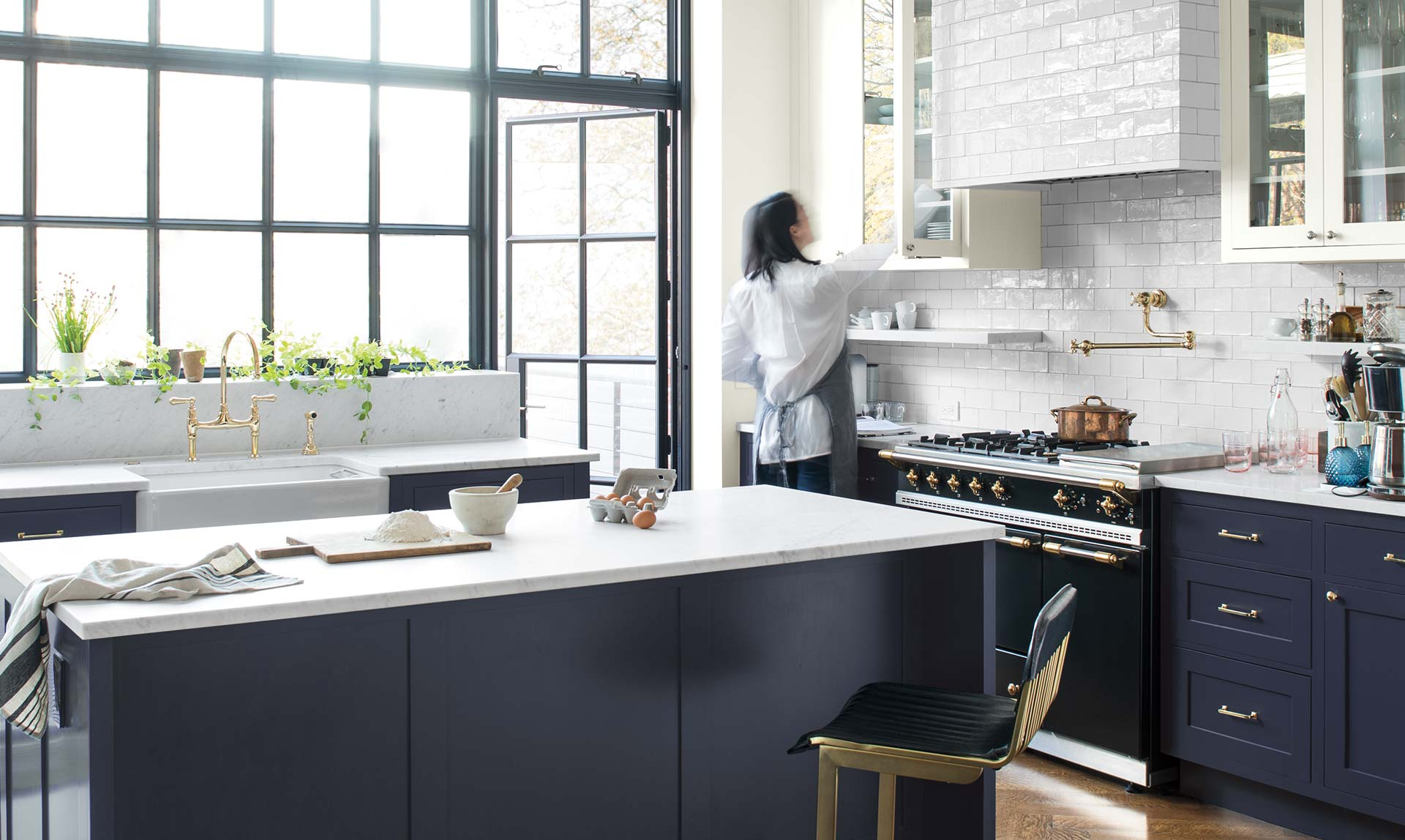 A buyer's guide to kitchen worktops - with lots of fresh ideas - by interior stylist Maxine Brady and lifestyle blogger at welovehomeblog.com