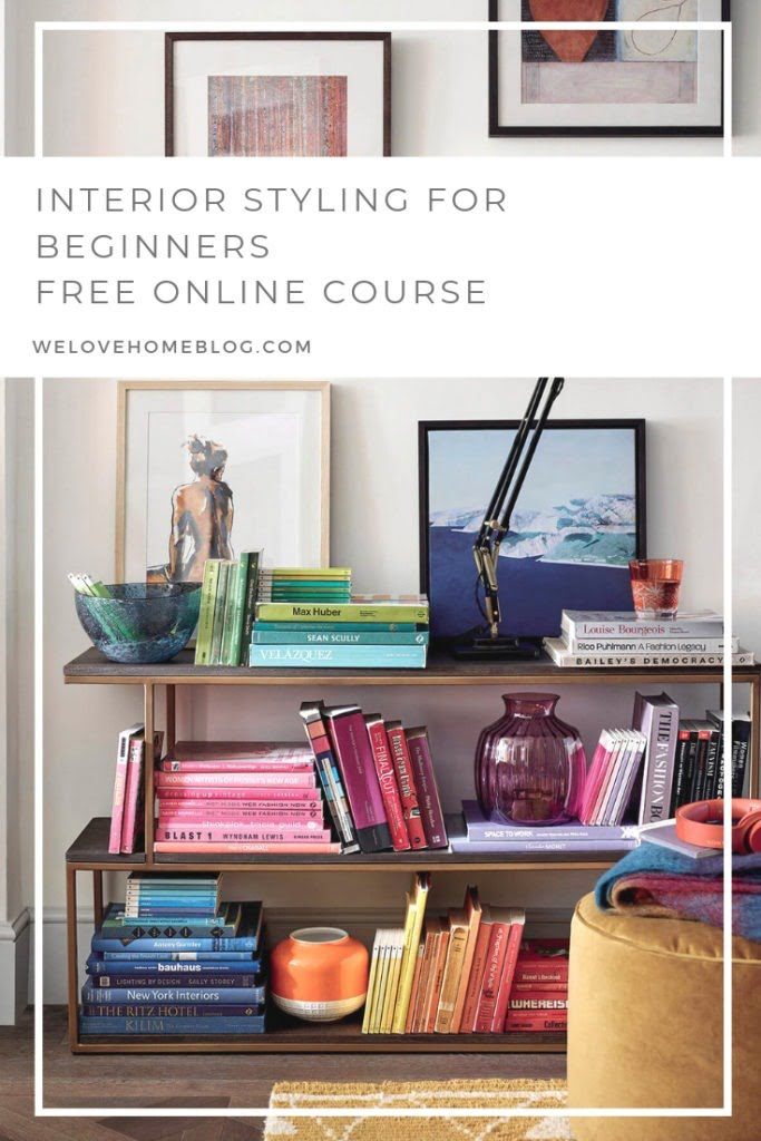 Interior Styling for Beginners - free online course