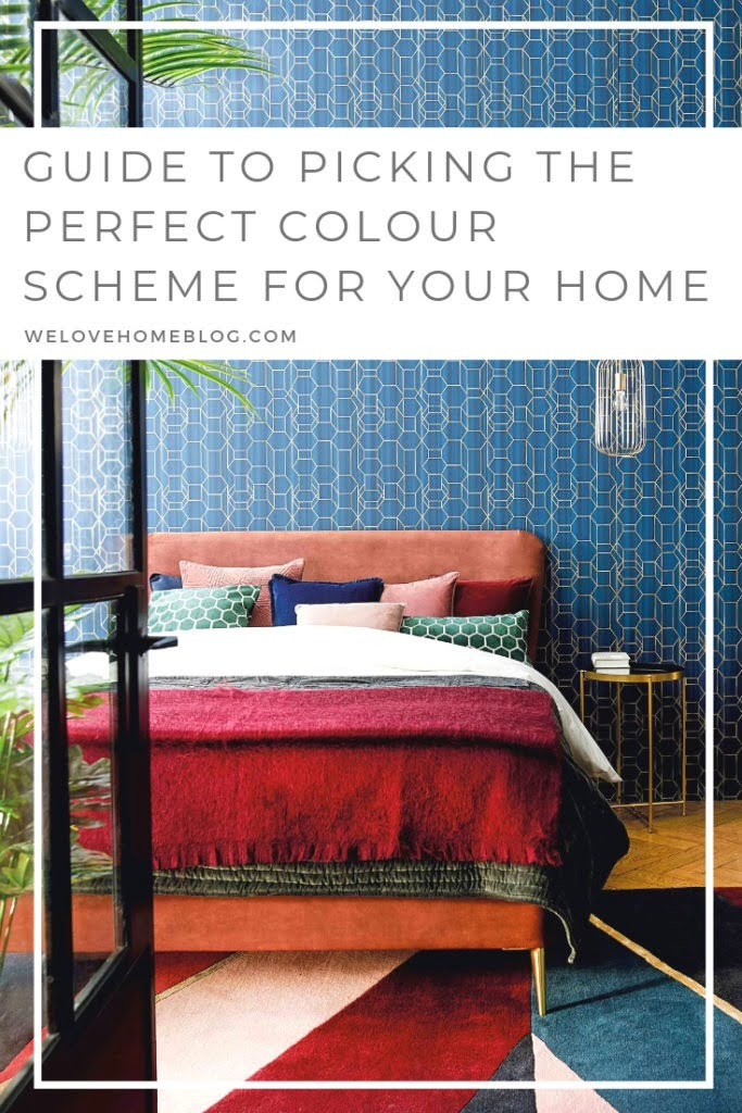 How to choose the perfect colour scheme for your home by interior stylist Maxine Brady from welovehomeblog.com
