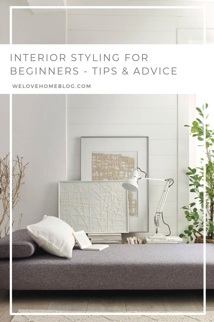 Interior Styling for Beginners - free online course by stylist Maxine Brady at welovehomeblog.com