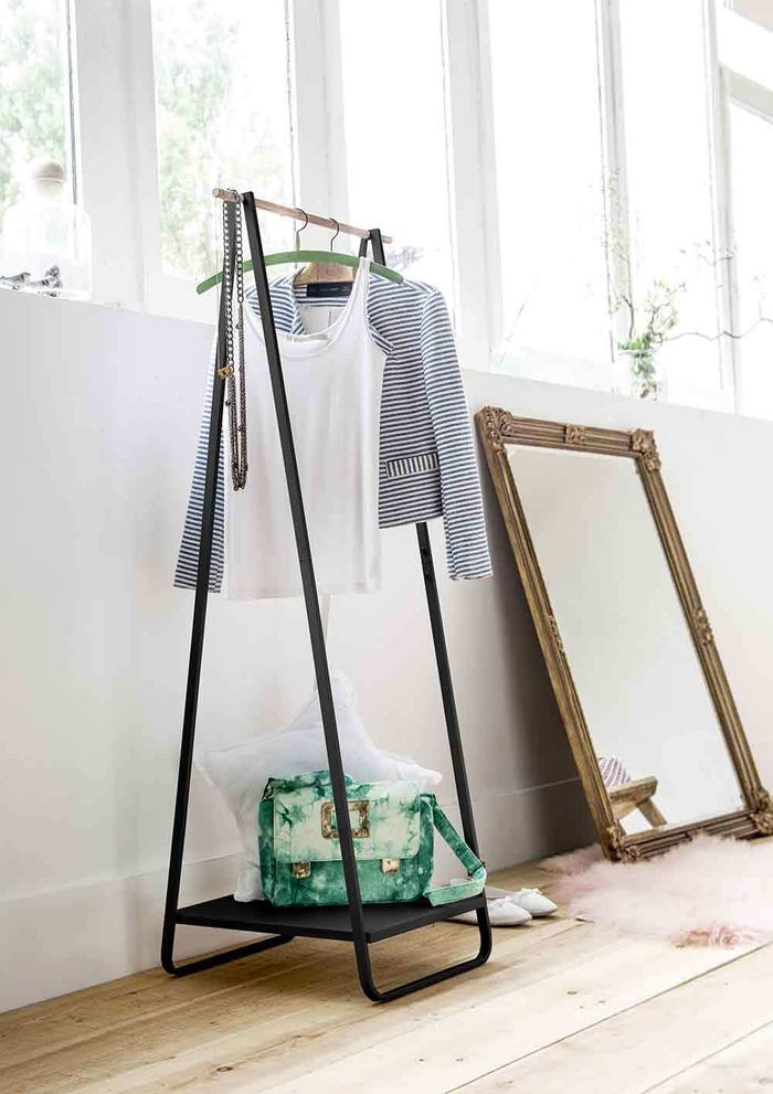 Discover how to tackle your bedroom clutter with these 6 stylish bedroom storage solutions for your home by interior stylist Maxine Brady. Simple hanging hook for your bedroom storage clutter problems.
