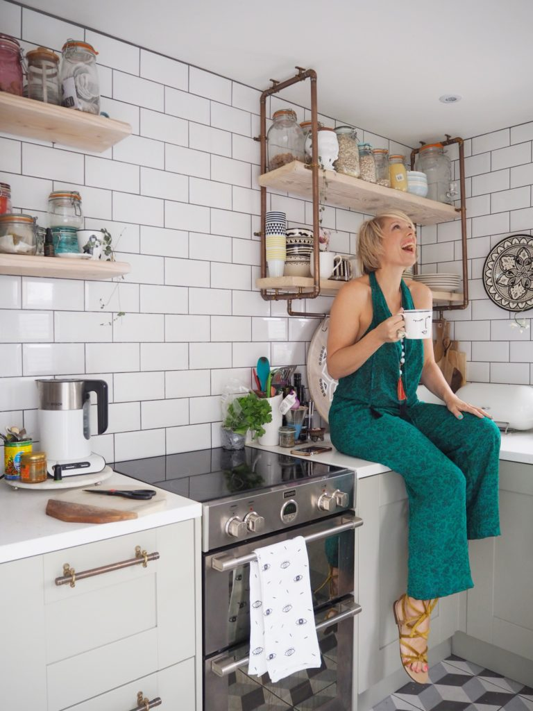 Interior Stylist, Maxine Brady, gives a tour of her dream home and shared what she loves most about living in Brighton.