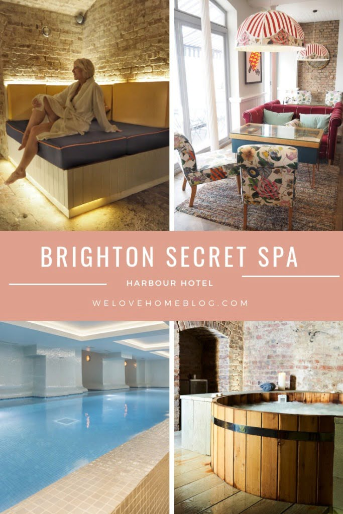 Discover Brighton's best kept sceret - the Harbour Hotel spa in Brighton review by lifestyle Blogger Maxine Brady from We Love Home blog.