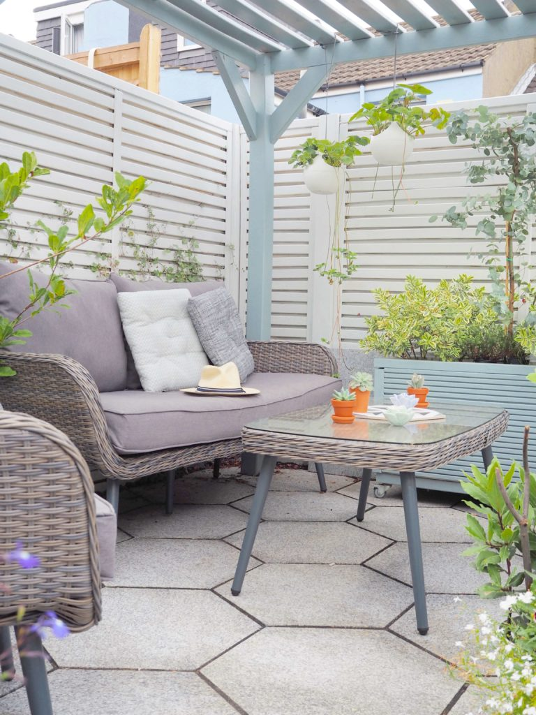 8 easy tips and tricks on how to create an outdoor garden room. From paint, to furniture to accessories - this post has got it covered. Why? Because we all want you to enjoy Summer for longer and make the most of every ray of sunshine says lifestyle blogger Maxine Brady