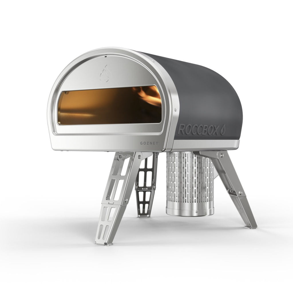 Outdoor pizza oven called Roccobox