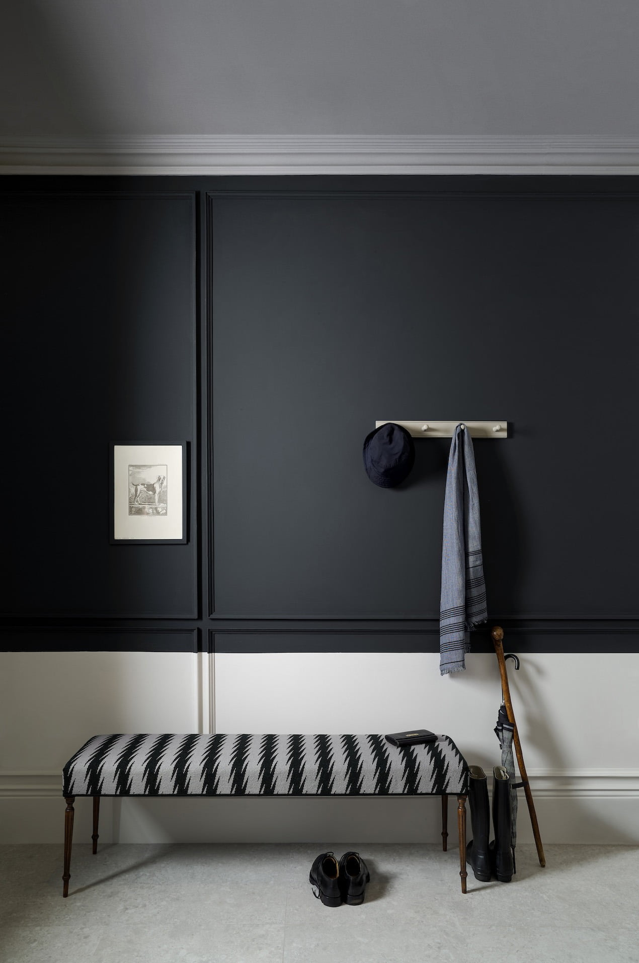 11 Chic Rooms That Will Make You Want To Paint Your Walls Dark Ad Welovehome Home