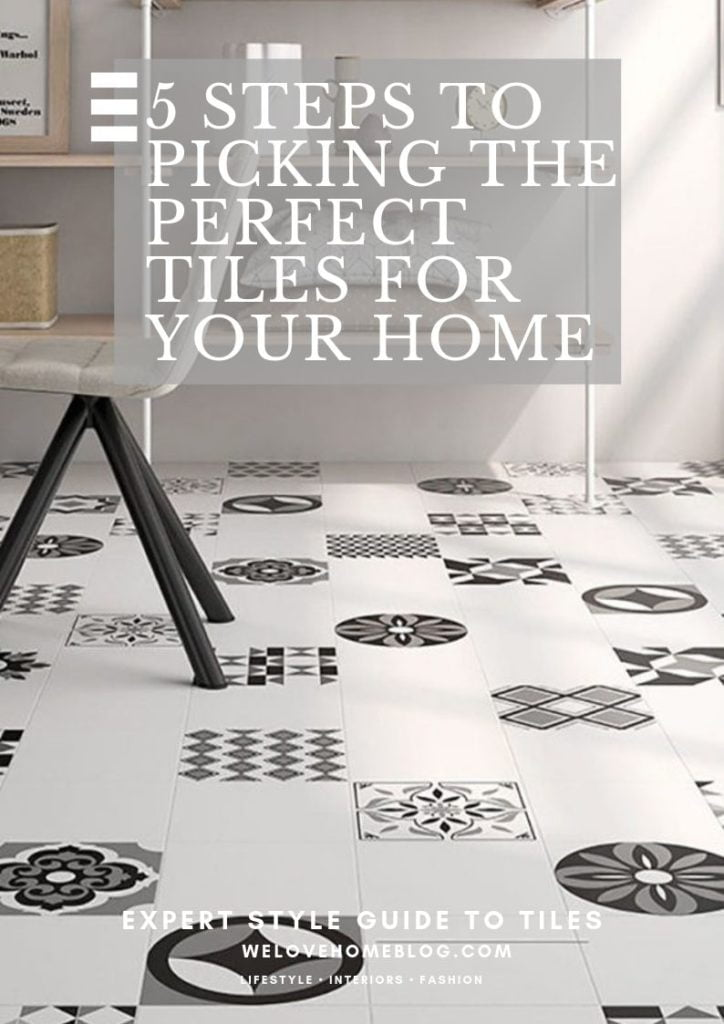 Choosing new tiles for your home? Here's my simple guide to picking the perfect tiles for your next decorating project by interior stylist Maxine Brady Published 14 October 2019