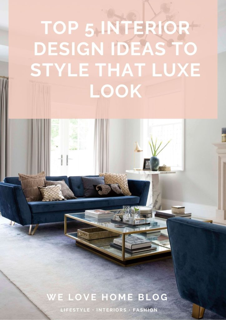 No Money? No problem! In this post, interior stylist Maxine Brady shares her luxe design ideas to give your home your luxe look for less